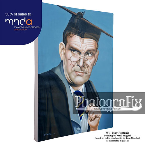 Will Hay Portrait Painting (300 Ltd Edition)