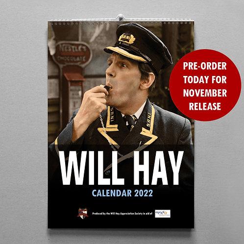Will Hay Calendar - 2022 - PRE ORDER
