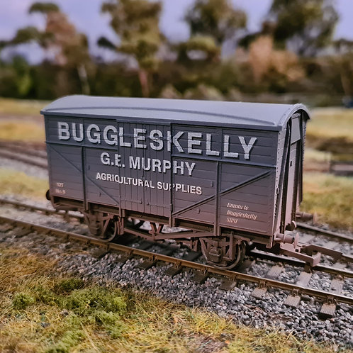 Buggleskelly G.E. Murphy OO Gauge Railway Wagon Van Truck (Oh Mr Porter!)