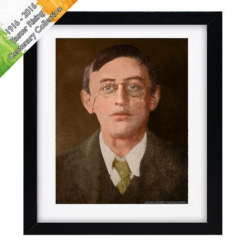 """Joseph Plunkett (1916 Easter Rising) 10""""x8"""""""