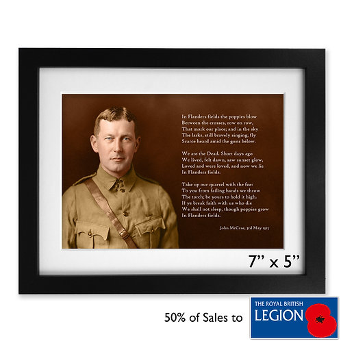 'In Flanders Fields' (50% to Royal British Legion)