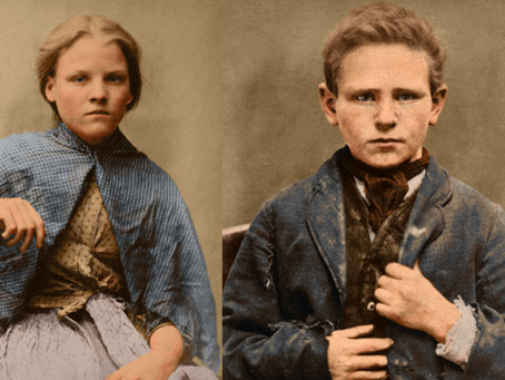 'Hard Labour' Child Criminals in Colour