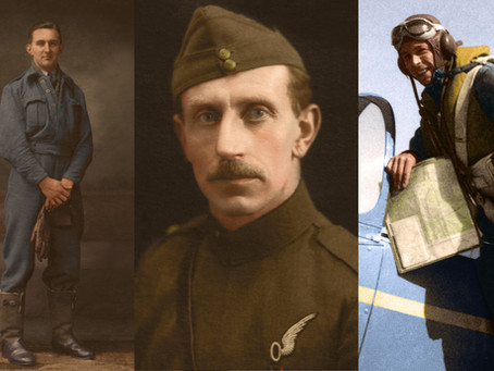 Those Magnificent Men: Everyday Heroes of the RAF in Colour