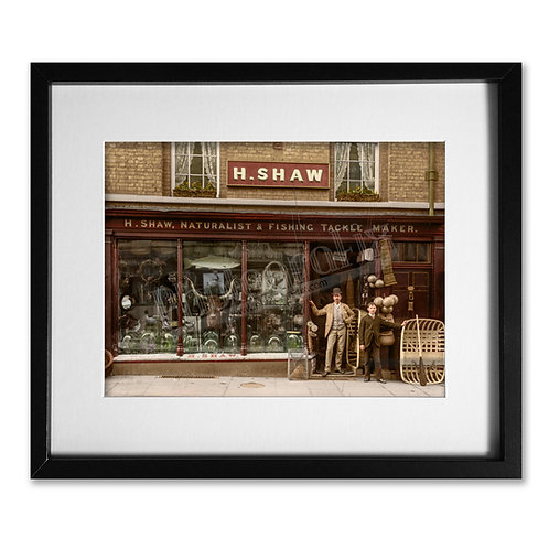 Harry Shaw, Shrewsbury - Fishing Shop, 1888