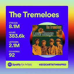 The Tremeloes Spotify Statistics