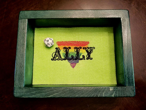 Ally/Pride Epic Dice Rolling Tray