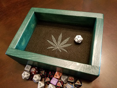 Marijuana/Cannabis Epic Dice Rolling Tray/Box