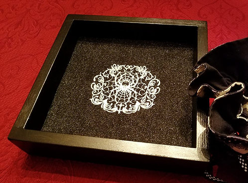 Gothic Spider Gala -- Legendary Dice Rolling Tray