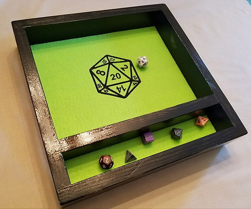 D20 -- Legendary Dice Rolling Tray