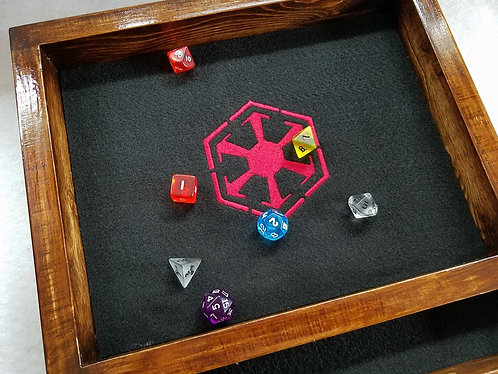 Sith Empire Fan Inspired Art  -- Legendary Dice Rolling Tray -- Free shipping US