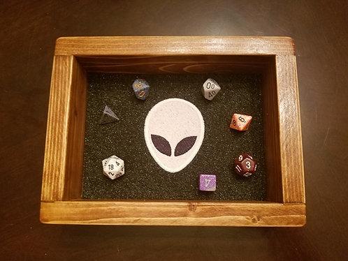 Alien Love Glow in the Dark Epic Dice Rolling Tray