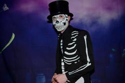 Mr Bones at the Rock N Roll Prom