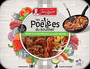 Maître Jacques - Le Boucher des belles occasions / Poêlées de Boeuf à la Provençale & ses petits légumes