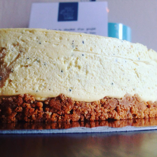 Cheese cake speculoos passion