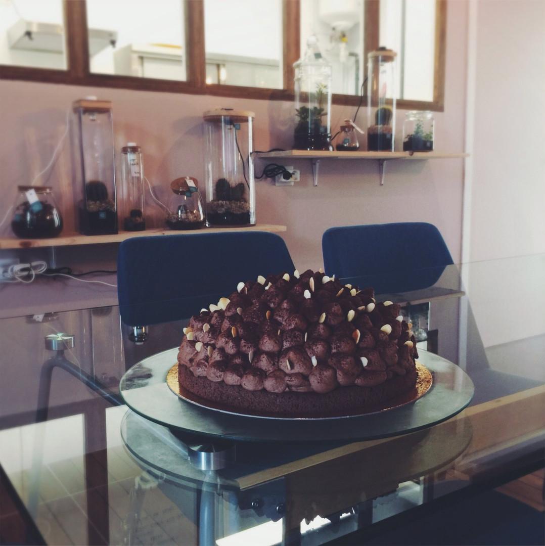 Tang ( gâteau tout choco )