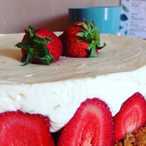 Cheese cake fraises citron