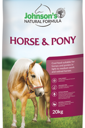 Johnson's Horse & Pony 20Kg