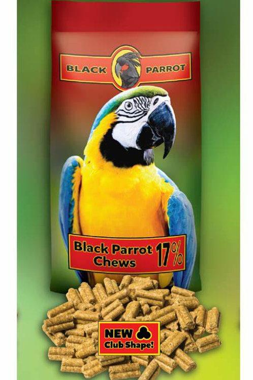 Black Parrot Chews 17% 5kg