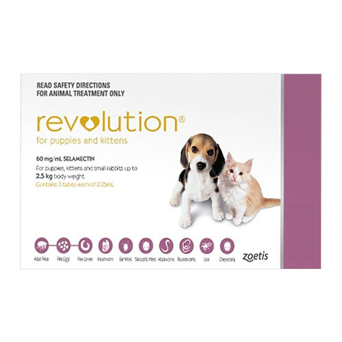 Revolution for Puppies & Kittens up to 2.5kg