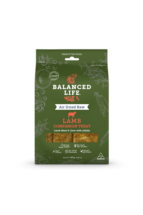 Balanced Life Companion Treats - Lamb 140gm