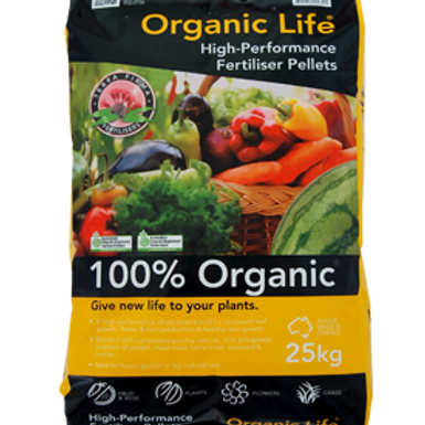 Terra Firma Organic Life Fertilizer 25Kg