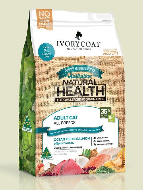Ivory Coat Cat - Ocean Fish & Salmon 3Kg