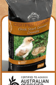 Country Heritage Organic Chicken Starter Grower Crumble 20Kg