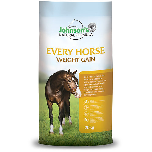 Johnson's Every Horse Weight Gain Formula 20Kg