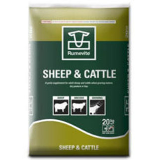 Sheep & Cattle Cubes 20Kg
