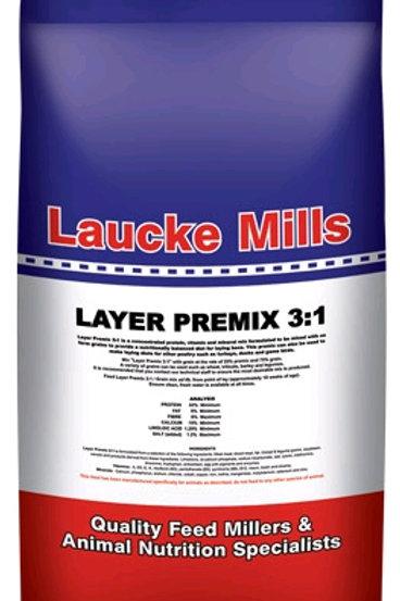 Lauke Layer Premix 3:1 20Kg