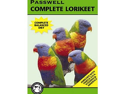 Passwell Complete Lorikeet - various sizes