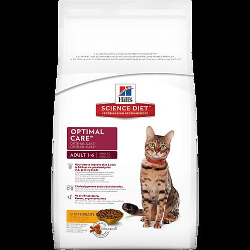 Hills Cat Adult Optimal Care Chicken 2Kg