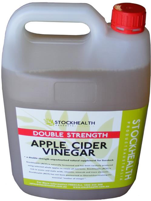 Stock Health Apple Cider Vinegar 5L