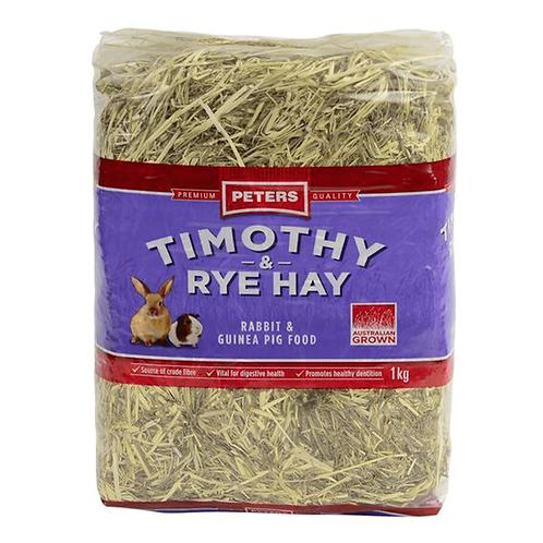 Peter's Timothy & Rye Hay 1kg
