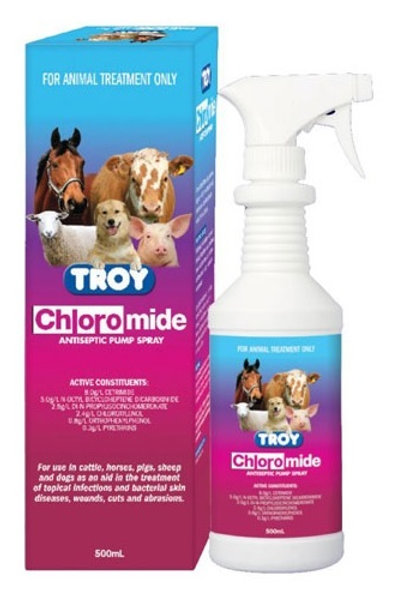 Troy Chloromide Spary 500ml