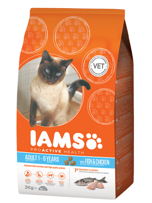 IAMS Cat Fish 3Kg