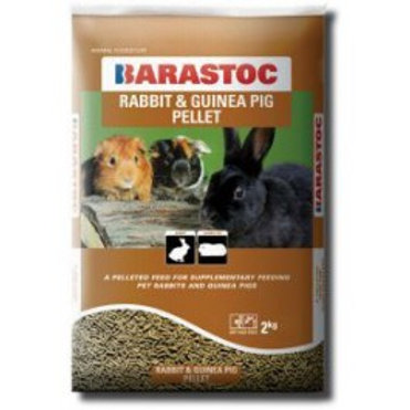 Rabbit & Guinea Pig Pellets - Various Sizes