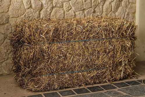 Pea Straw Bales - full/normal or compressed bales  **limit 5 bales
