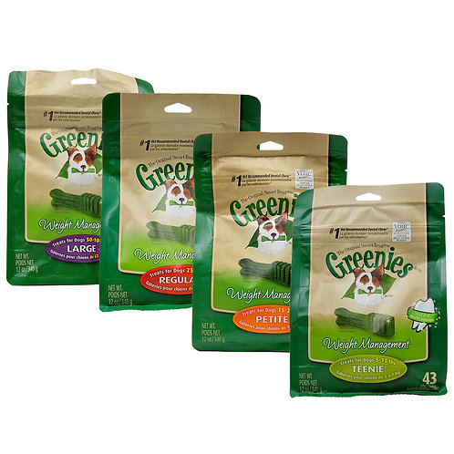 Greenies 340gm - All Sizes