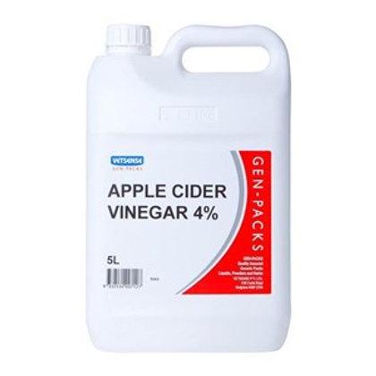 Apple Cider Vinegar 4%, Vetsense 5L