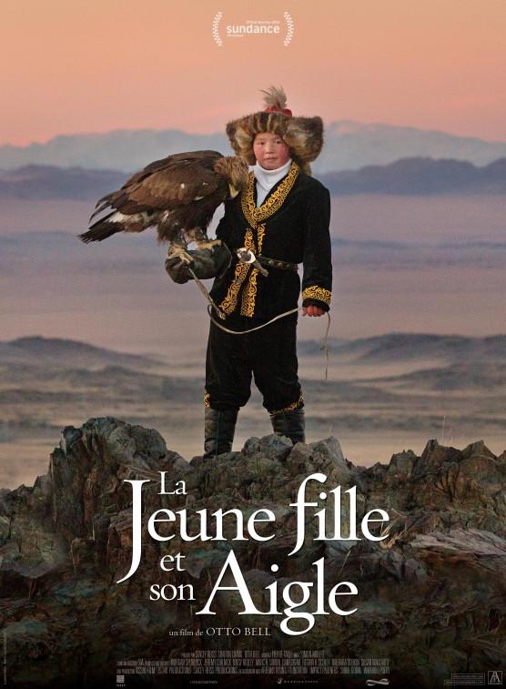 aisholpan affiche du film la jeunne fille et son aigle