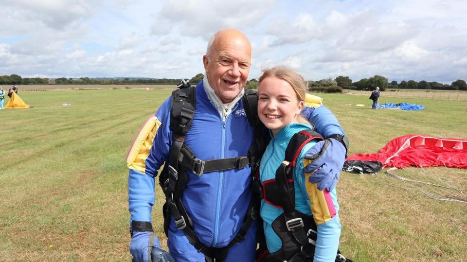 Becky & Terry - Sky dive