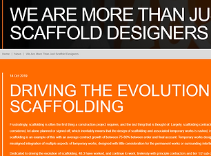 48.3 We're more than just scaffold desig