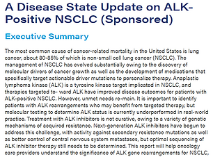 A Disease State Update on ALK-Positive N