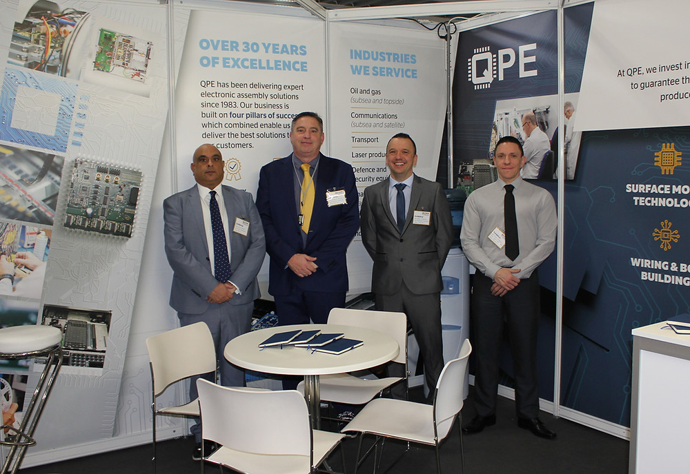 The QPE team at Southern Manufacturing & Electronics