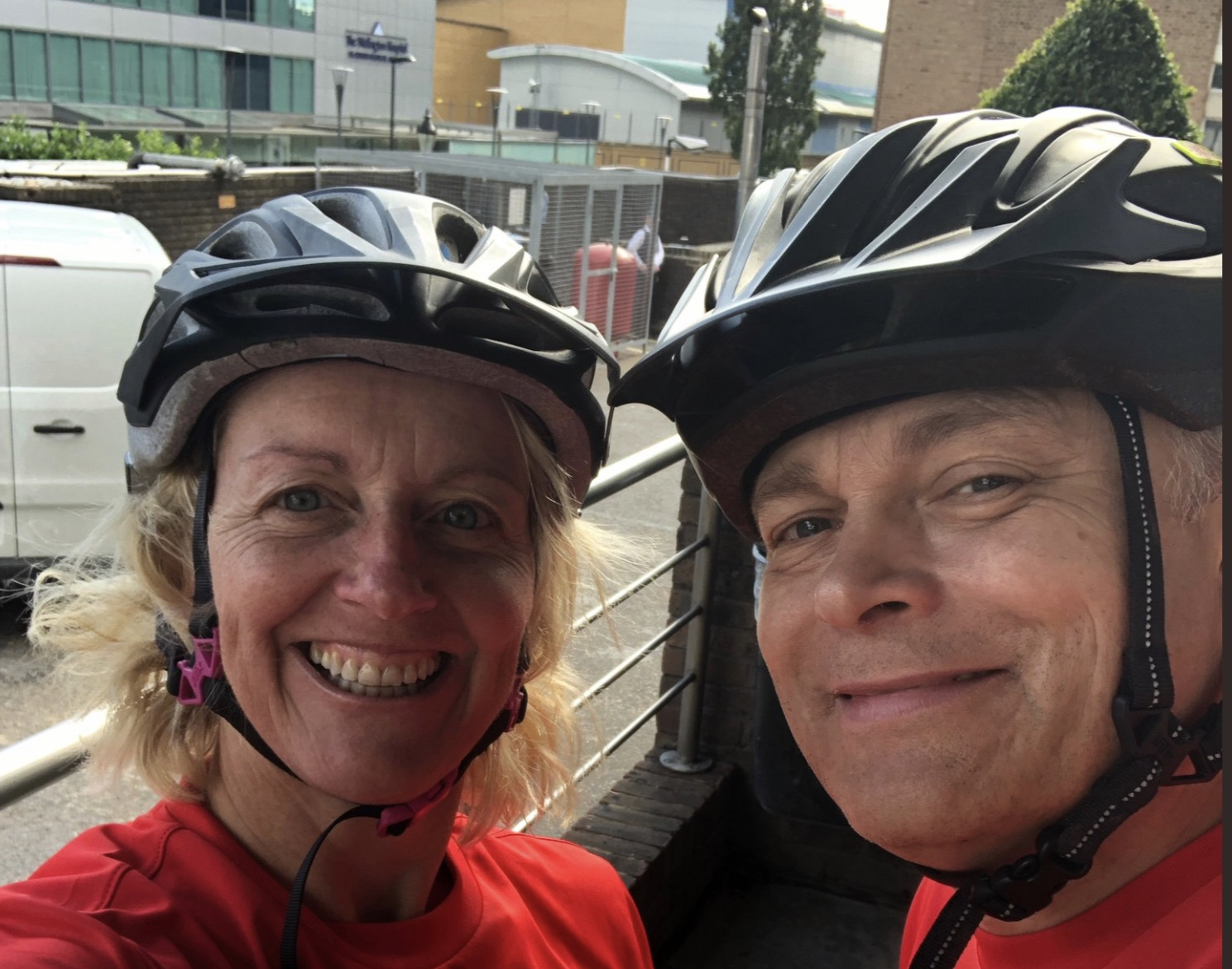 Susie & Wayne - End to end cycle ride