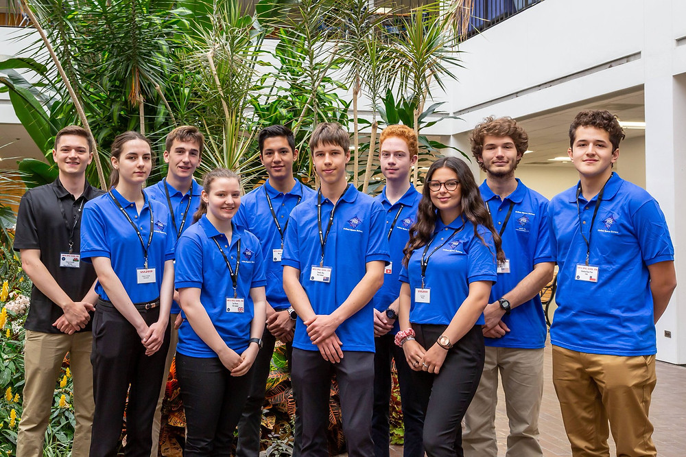 QPE sponsors Cailyn Calder's United Space School trip