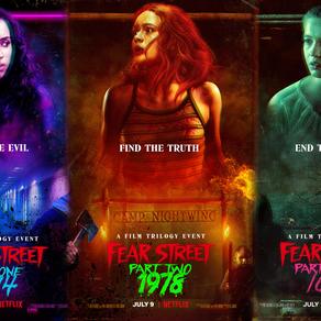 FEAR STREET - LA TRILOGIE (critique)