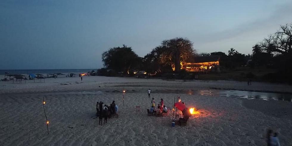 Beach BonFire @Estuary - Kongo River Beach
