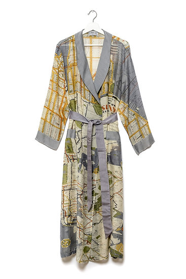One Hundred Stars New York City Map Gown